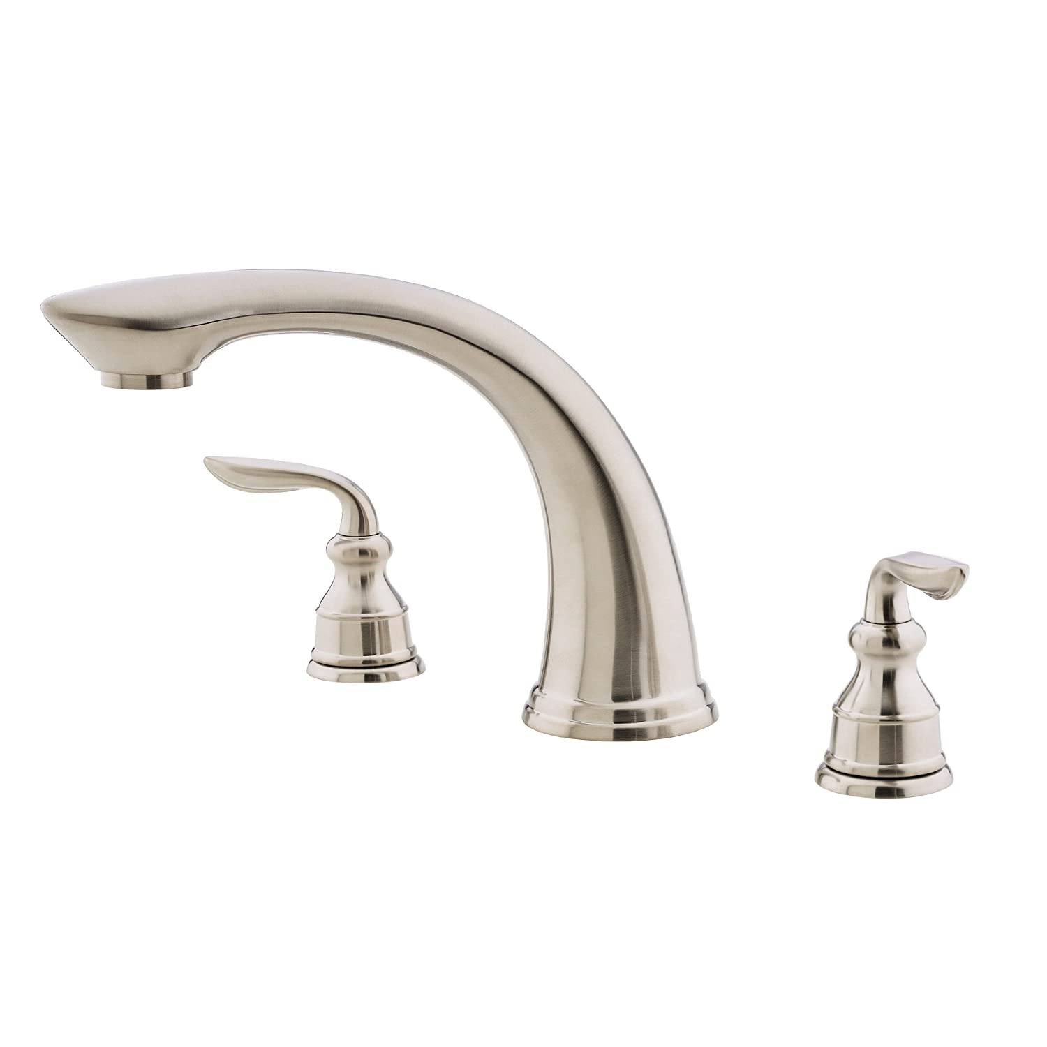 replace roman tub faucet. Pfister Avalon 2 Handle Roman Tub Faucet  Brushed Nickel Two Only Faucets Amazon com