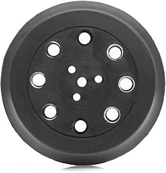 8 Holes Glass Polish GP12702 DA Dual Action Hook and Loop Backing pad with 5//16-24 Thread//Diameter 5 inch