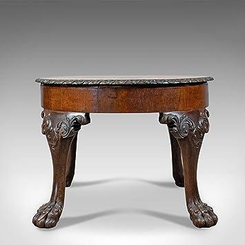 Antique Table Basse Anglais Victorien Table Dappoint Chêne
