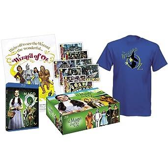 El mago de Oz The Wizard of Oz 1939 - Pack Collector Blu-Ray + Tshirt + 8 Post cards + Poster Blu-ray European region B/2: Amazon.es: Judy Garlan, frank morgan: Cine y Series TV