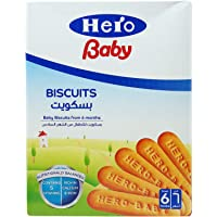 Hero Baby Biscuits For Infants, 6 Months - 1 Year