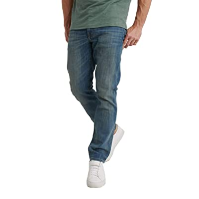 Lucky Brand Men's 410 Athletic Slim Relaxed Fit Jeans, North Hobbs at Men's Clothing store
