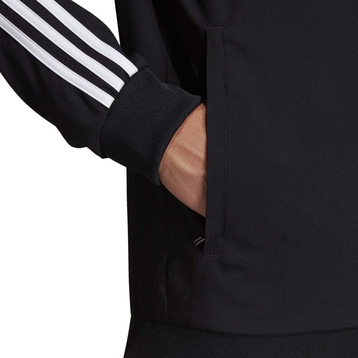 Mens Essentials 3-Stripes Woven Track Top
