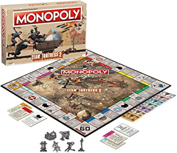 Team Fortress 2 Monopoly Juego De Mesa: Amazon.es: Juguetes y juegos