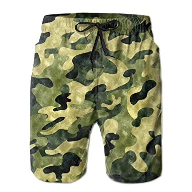 Camouflage Pants Of Swimming Trunks For Mens Trousers Beach Pants