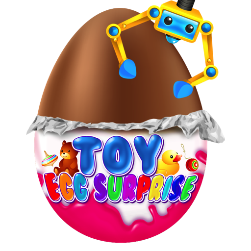 Surprise Egg - Chocolate Kids Egg Prize Toys and Prize Claw Games FREE ()