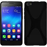 PhoneNatic Custodia Huawei Honor 6 Cover nero X-Style Honor 6 in silicone + pellicola protettiva