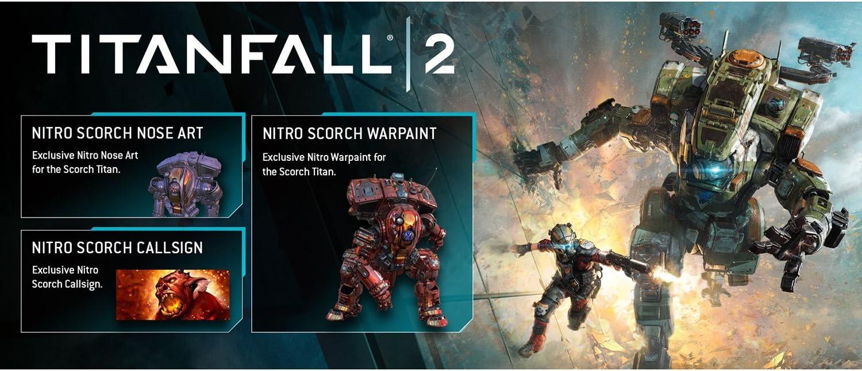Audio-Technica Titanfall 2 (Xbox One) with Bonus Nitro Scorch Pack ...