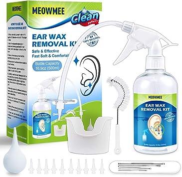 como quitar cera del oído en casa