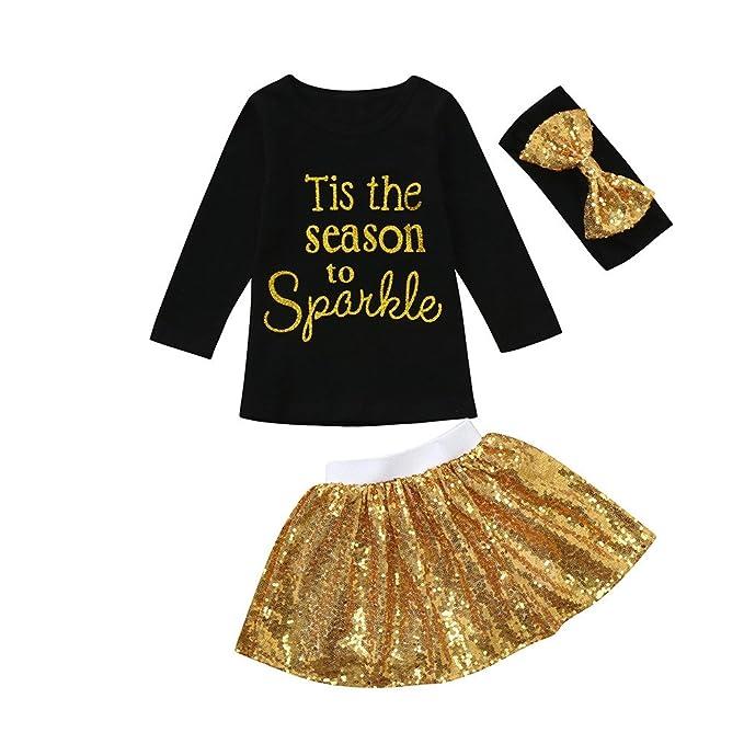 Amazon.com: Juego de faldas para bebés de 0 a 24 meses, ropa ...