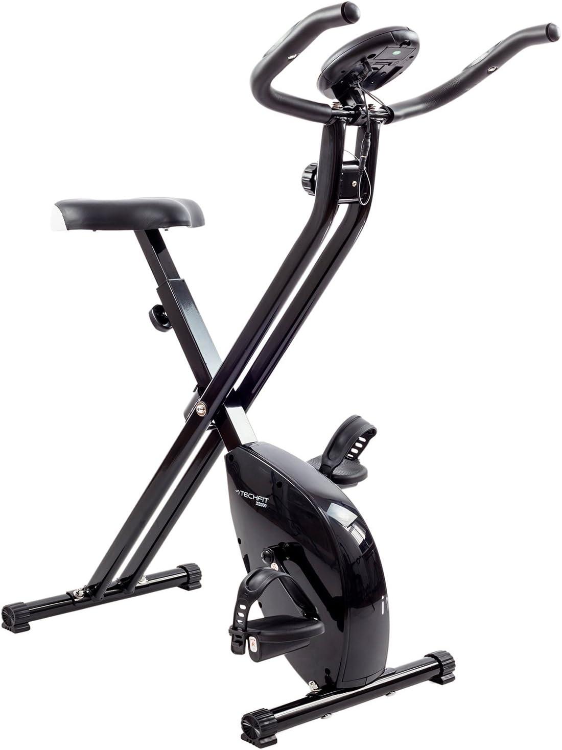 TechFit XB200 Bicicleta Estática de Fitness, Rueda de 2,5 kg ...