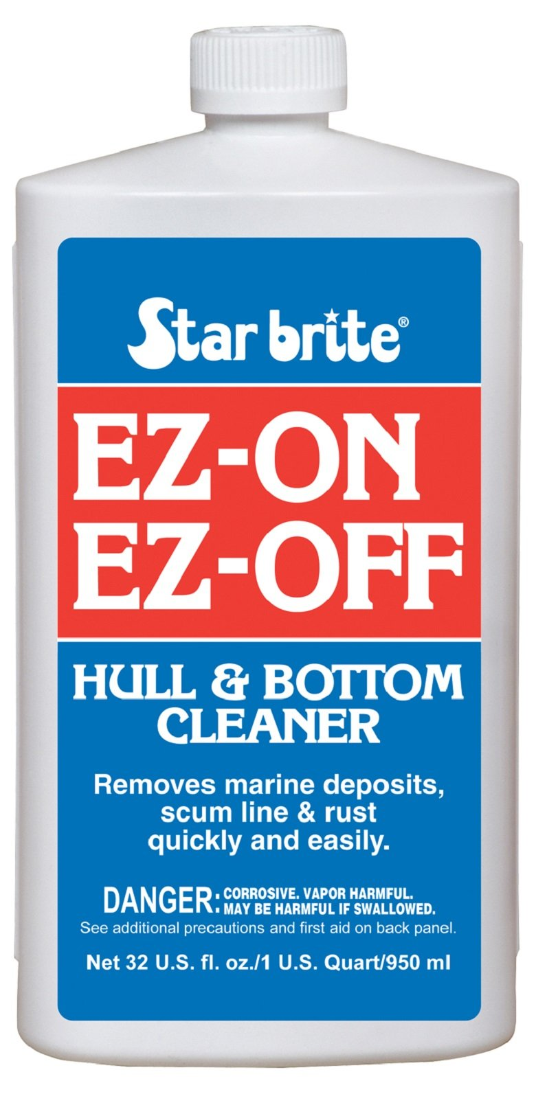 Star brite EZ-ON EZ-OFF Hull & Bottom Cleaner 32 oz by Star Brite