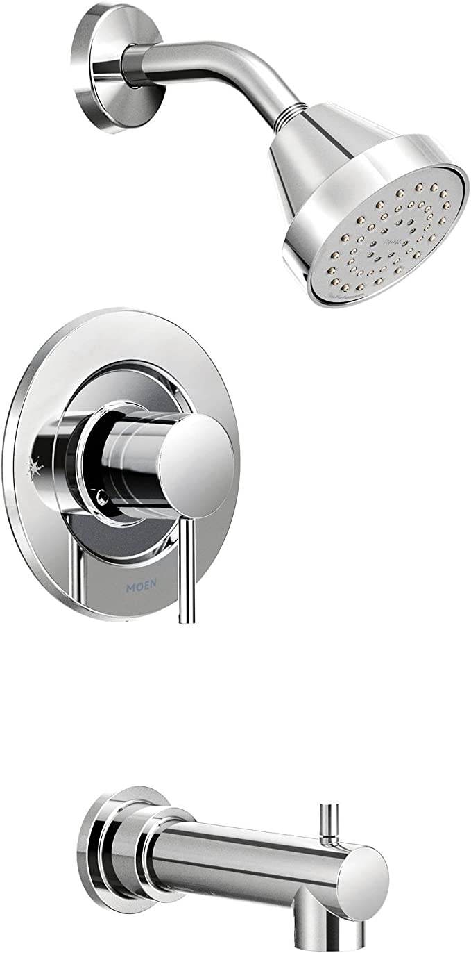 6. Moen Align Eco Performance Tub And Shower Faucet Set