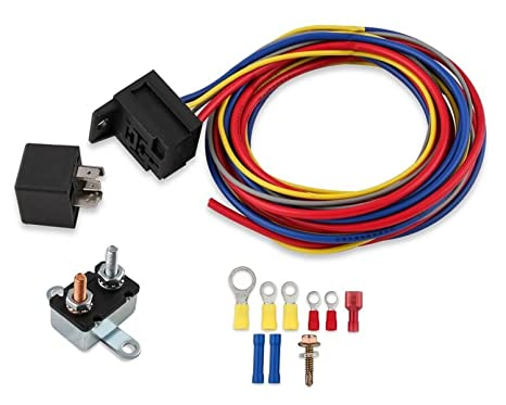 image unavailable  image not available for  color: mr  gasket 40205g  electric fuel pump harness and relay wiring kit