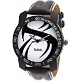 Relish-561 Stylish Black Case Analog Watches for Mens & Boys