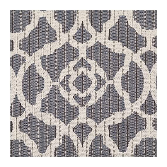 """Stone & Beam Woven Trellis Modern Decorative Throw Pillow, 20"""" x 20"""", Slate Grey - A classic trellis design with a subtle geometric update, along with neutral colors of slate and ivory, make this pillow a standout in a traditional or modern bedroom. For a different look, reverse it to the solid flax-colored side. Pillow cover features hidden bottom zipper 20""""L x 20""""W, Pillow cover dimensions are measured from seam to seam when cover is laid flat. - living-room-soft-furnishings, living-room, decorative-pillows - 71JG qPzd6L. SS570  -"""