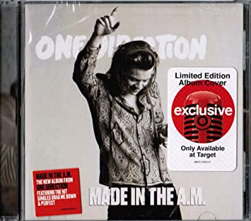 One Direction - Made In The AM - Exclusive Limited Edition Album Cover CD