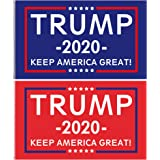 Donald Trump 2020 Flags,Keep America Great, with Brass Grommets, Double Stitched Vivid Color Anti Fading, Outdoor Yard Flag K