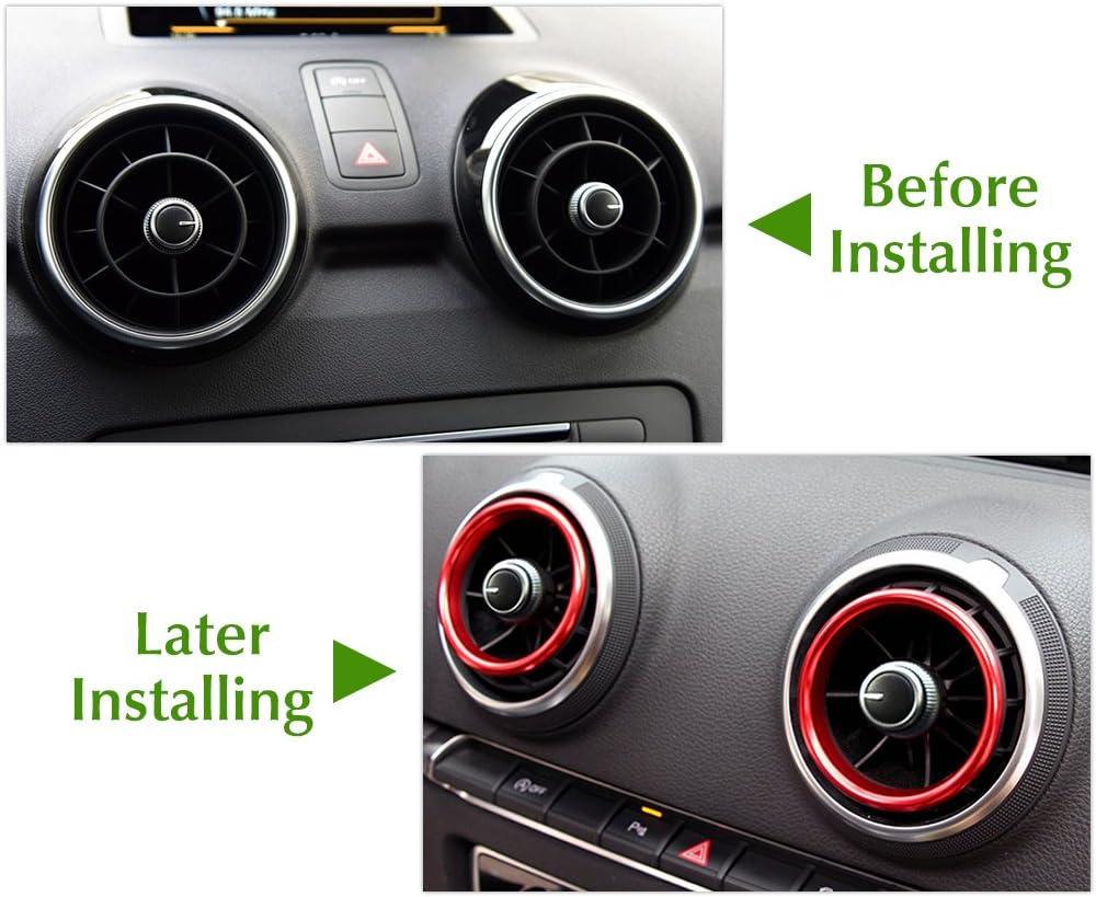 Voiture climatisation Air Vent D/écoration pour Audi A1/2015/2016/2017