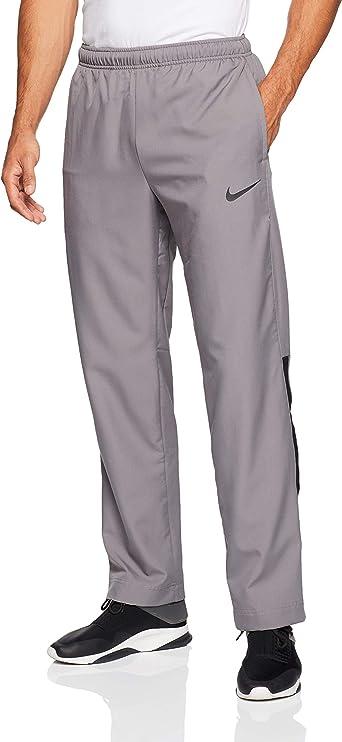 Nike Mens Dri-Fit Woven Training Pants Gunsmoke Grey/Black Size 2XL
