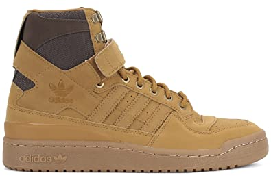 Adidas Men's Forum Hi OG Gum Sneaker (9, Mesa/Gum/Brown)