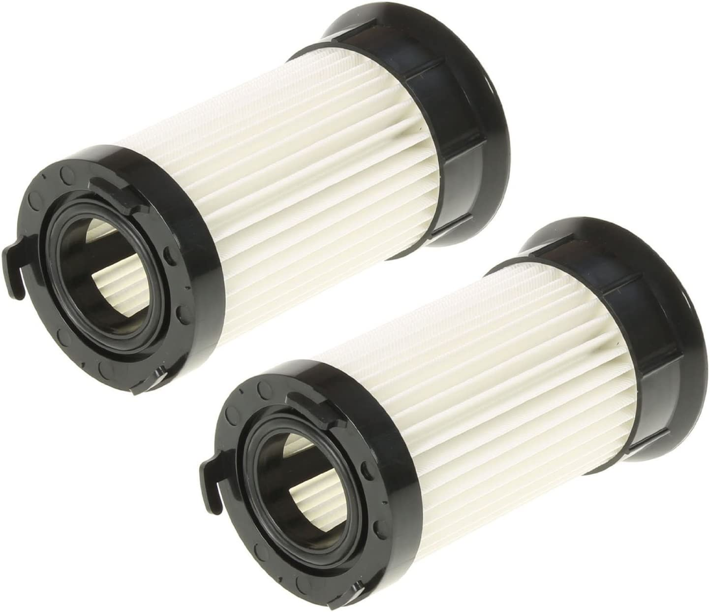 Spares2go Pleated Cartridge Filters for Electrolux Vacuum Cleaners (Pack of 2)