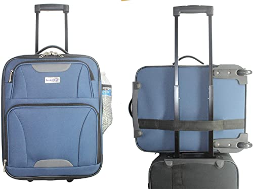 BoardingBlue 18 Frontier, Spirit, American Airlines Personal Item Under Seat Basic Luggage navy