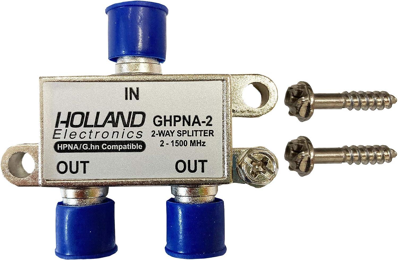 Splitter IPTV RF Broadband 2-Way HomePNA Tested /& Certified for applications on U-Verse Networks
