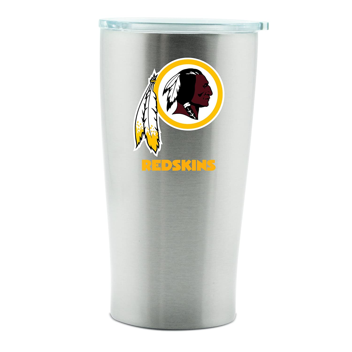 Amazon.com: Washington Redskins – taza térmica 14oz doble ...