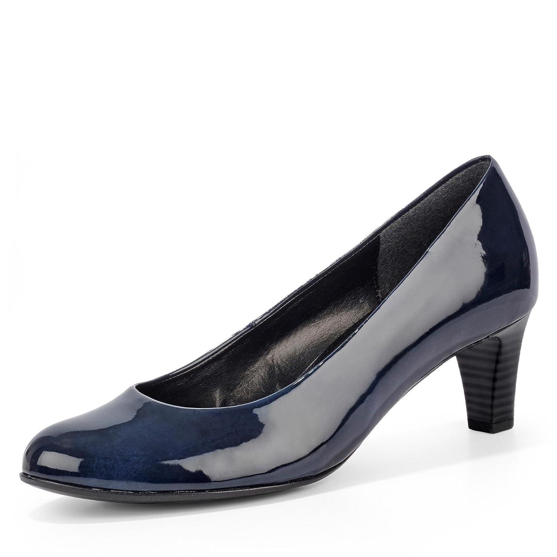 Gabor Nesta Womens Leder Kleid Pumps Dunkelblau2018 Letztes Modell  Mode Schuhe Billig Online-Verkauf