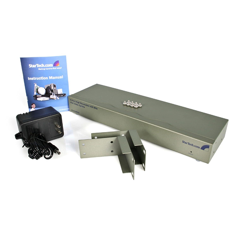 2048x1536 @ 80Hz StarTech.com 4-Port VGA Video Splitter 4 port 300 ...