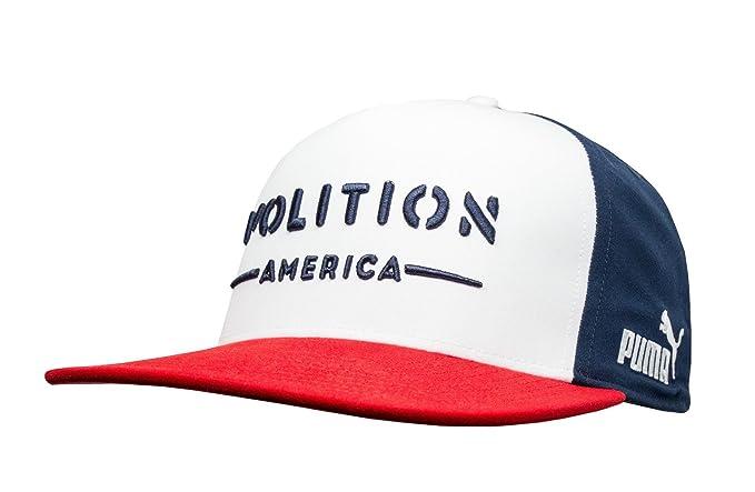 b4065838e04 Amazon.com  PUMA Golf Men s Volition Camo Snapback Cap Red One Size ...