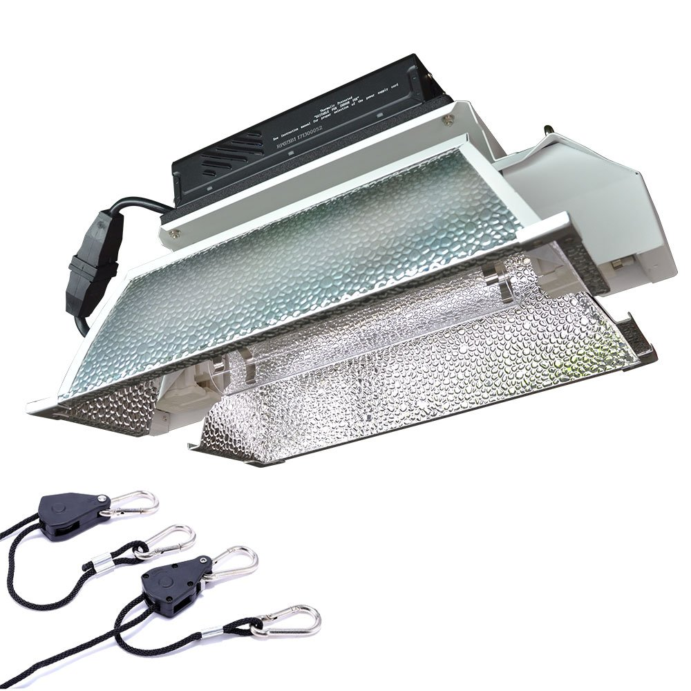 Hydroponic 1000 Watt Grow Light Fixture Kit With Digital Ballast,Improved Reflector
