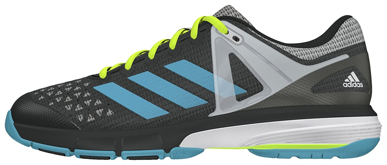 adidas Court Stabil 13 W, Zapatillas de Balonmano para Mujer (Grpudg/Azuvap/Ftwbla) 000 44 2/3 EU AQ6123