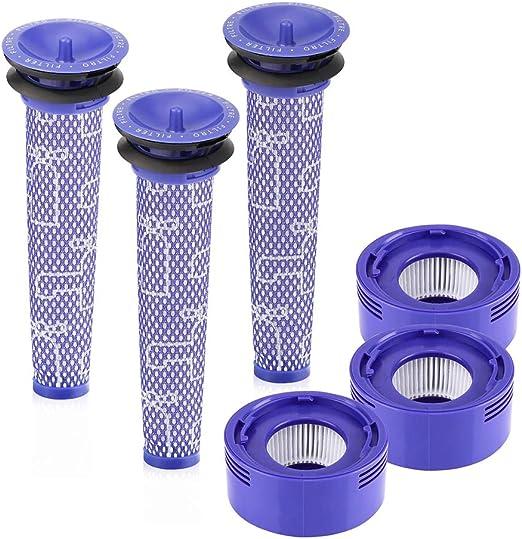 LZH FILTER Kit de reemplazo de Filtro de vacío para aspiradoras ...