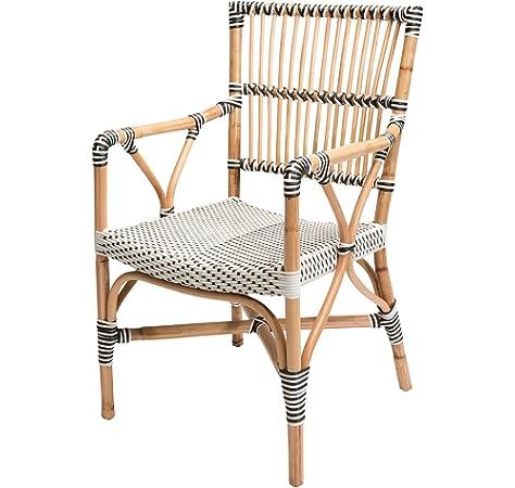 Rotin Design Lote 6 sillones Bistro Luca - Aluminio y ...