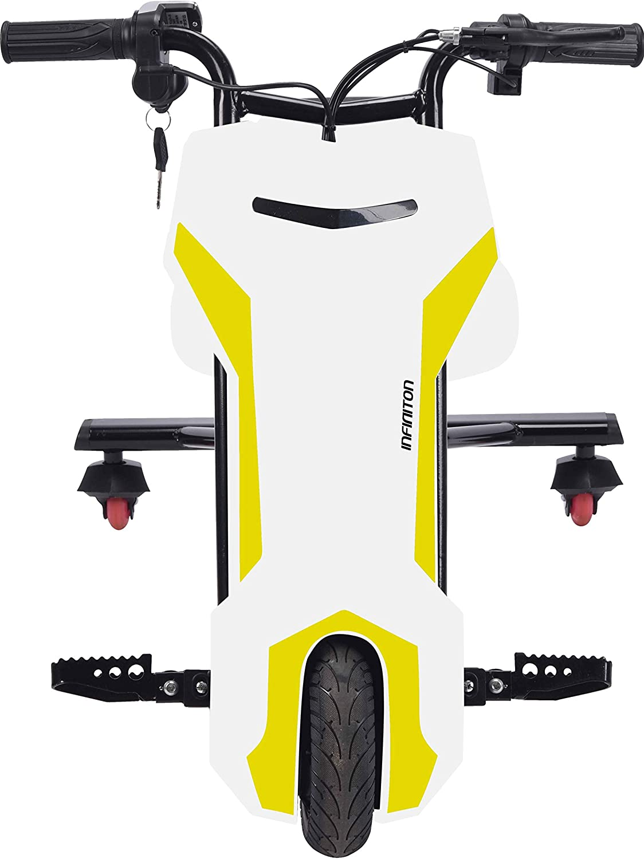 Triciclo ELECTRICO Crazy Bike Sup INFINITON (Amortiguacion Trasera, Distancia Regulable, Velocidad máxima 20km/h)