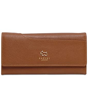 72053d37921 Radley London Large Flapover Matinee Wallet (Brown) at Amazon Women's  Clothing store: