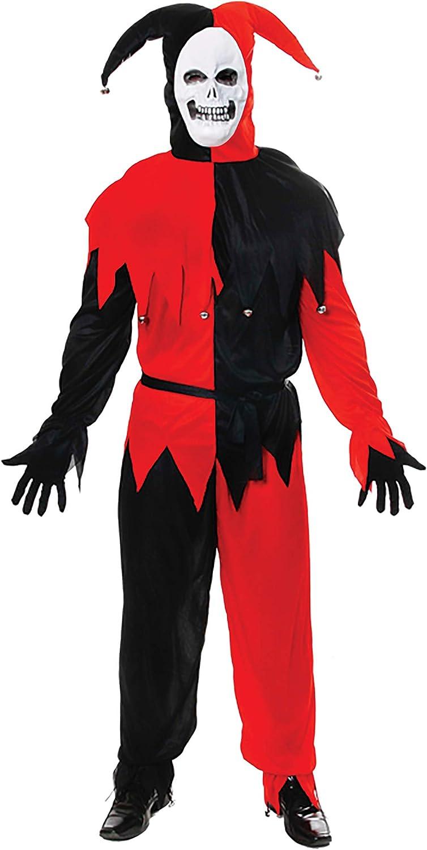 HENBRANDT Disfraz de Halloween Terror Evil Bufón: Amazon.es ...