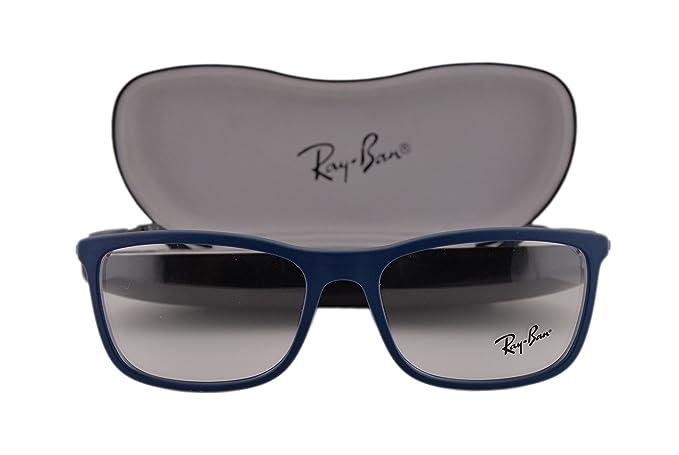 6350b12dd8 Ray-Ban RX7029 Eyeglasses 53-17-145 Top Blue On Matte Gray 5260 ...