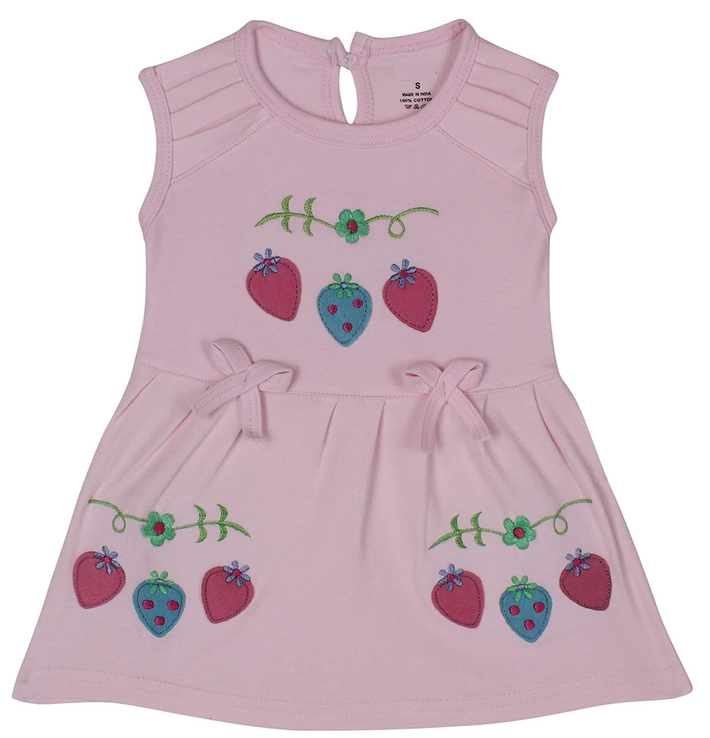 200727930245 Icable High Quality Baby Girl's Cotton Cute Printed Frock with Shorts  (Pink, 3-6 Months): Amazon.in: Baby