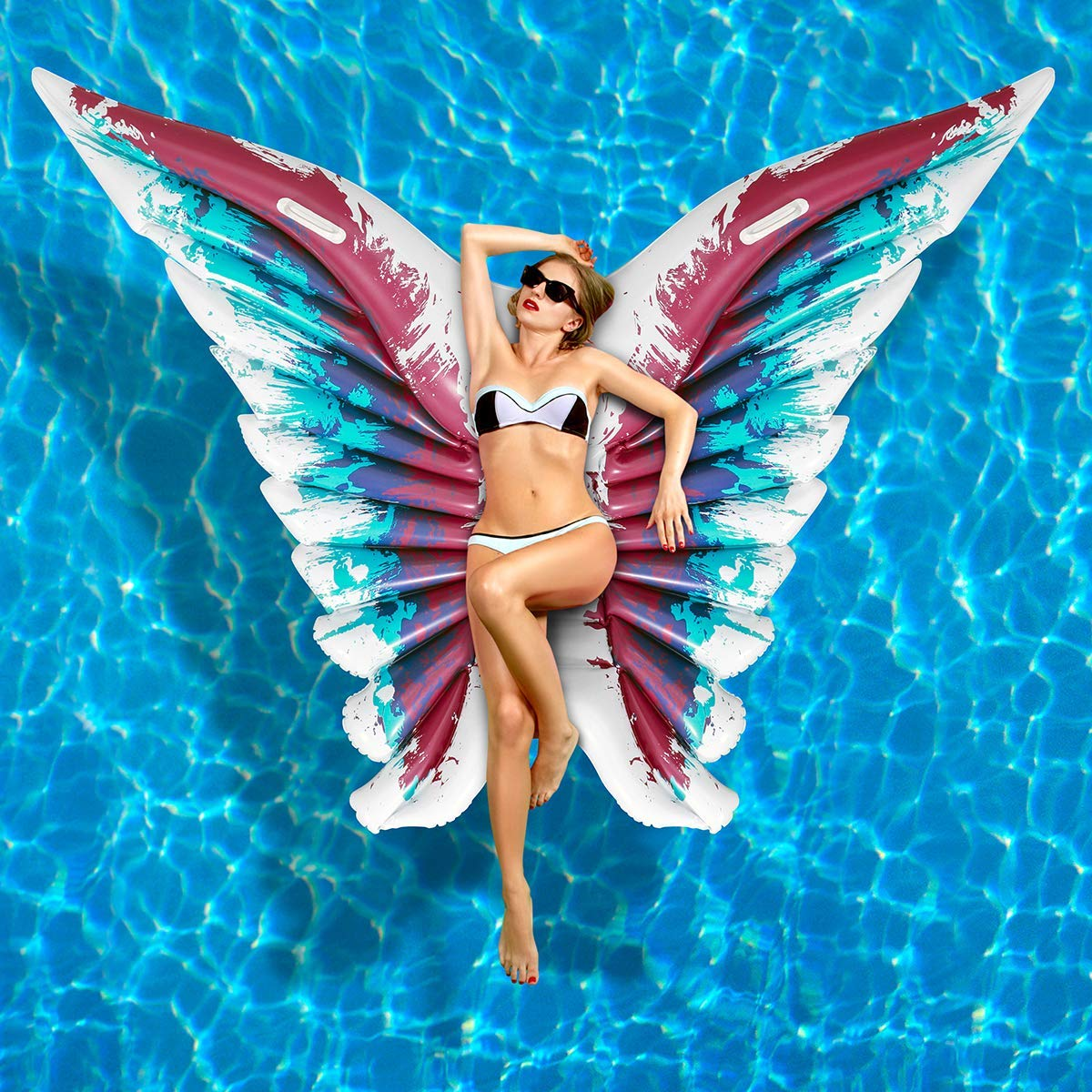 Provided Big Size Butterfly Top Inflatable Thicken Oversized Girls Boys Paddling Pool Family Childrens Pool Summer Water Play Pool Mother & Kids
