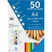 Dohe 30108 - Pack de 50 cartulinas, A4