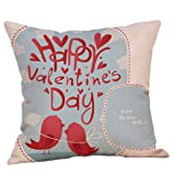 KESEELY Valentine's Day Throw Pillow Case Sweet