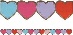Teacher Created Resources Home Sweet Classroom Hearts Die-Cut Border Trim (TCR8457)