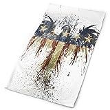 Chu warm Headband American Flag Eagle Funny Outdoor