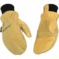 KINCO INTERNATIONAL 901T Heat Keep Thermal Lining Premium Pigskin Leather Mitt, Work, Gloves, Medium