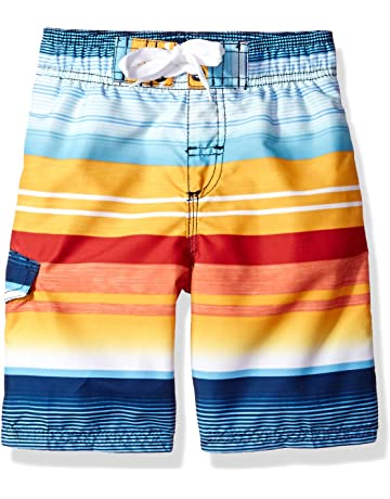 d7cf13bd41 Kanu Surf Boys' Victor Quick Dry Beach Swim Trunk