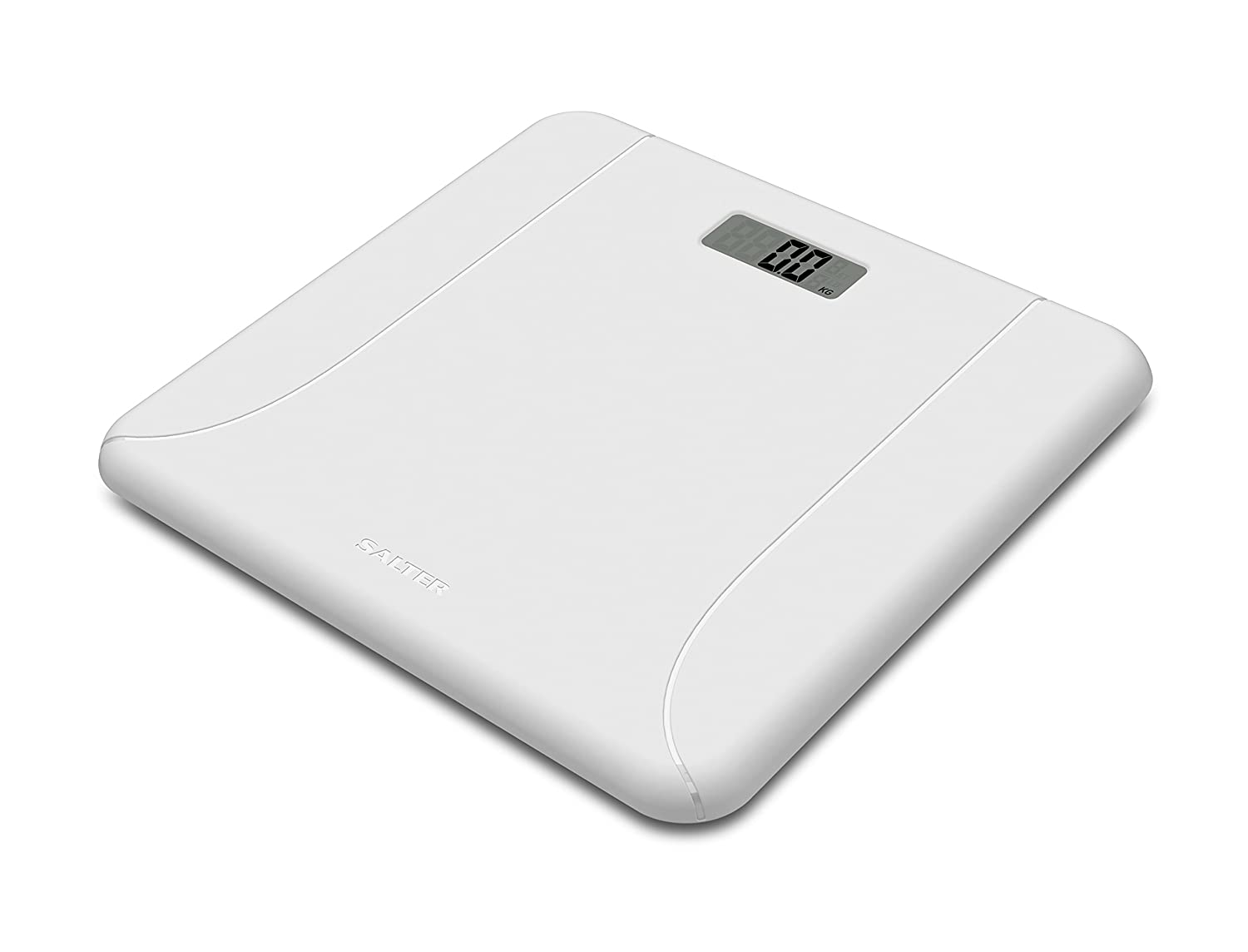 Salter Electronic Scale - White 9091 WH3R