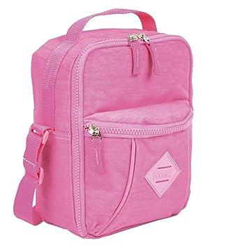 dddb8c604 Lancheira Marmiteira Rosa Claro Pocket Sestini Lunch Crinkle: Amazon ...
